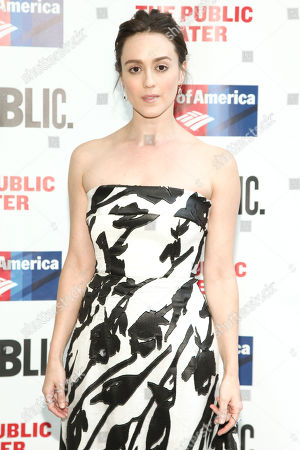 "Stock Image of Heather Lind attends the 2016 Public Theater Gala Benefit ""United States of Shakespeare"" at the Delacorte Theater in Central Park, in New York"