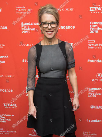 """Actress Lauren Weedman poses during the premiere of """"Joshy"""" during the 2016 Sundance Film Festival, in Park City, Utah"""