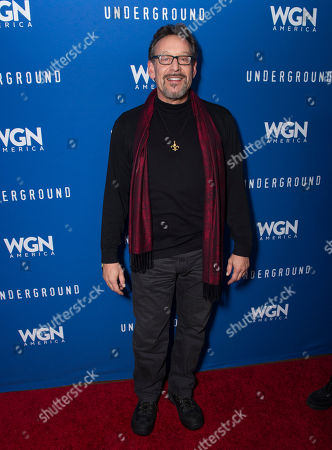 """Actor Rob Steinberg seen during the """"Underground"""" party at the Vida Tequila Lounge during the 2016 Sundance Film Festival, in Park City, Utah"""