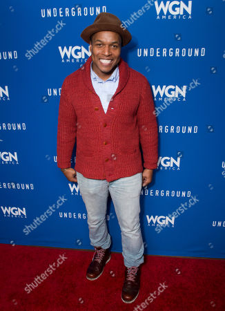 """Actor Sheldon Candis seen during the """"Underground"""" party at the Vida Tequila Lounge during the 2016 Sundance Film Festival, in Park City, Utah"""