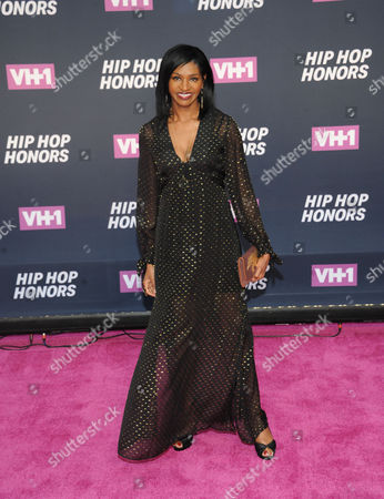 Jenny Jules attends the arrivals at VH1's Hip Hop Honors at David Geffen Hall at Lincoln Center, in New York