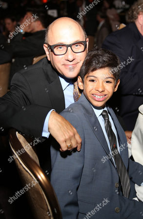 Willie Garson, left, and Nathen Garson attend at the 22nd Annual Alliance for Children's Rights Dinner at The Beverly Hilton Hotel on in Beverly Hills, Calif