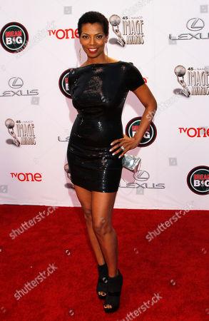Vanessa A. Williams arrives at the 45th NAACP Image Awards at the Pasadena Civic Auditorium, in Pasadena, Calif