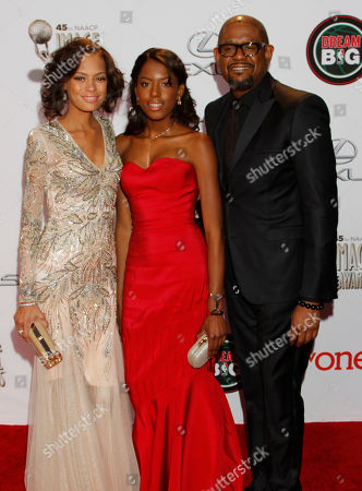 Editorial photo of 45th NAACP Image Awards - Arrivals, Pasadena, USA