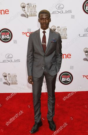 Editorial image of 45th NAACP Image Awards - Arrivals, Pasadena, USA