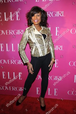 Singer Alexis Houston attends the 4th Annual ELLE Women in Music Celebration on Wed. in New York