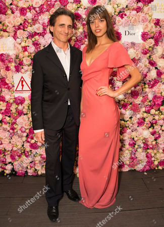 Lawrence Bender and Eva Doll seen during the after party for the film A Tale of Love and Darkness at the 68th international film festival, Cannes, southern France