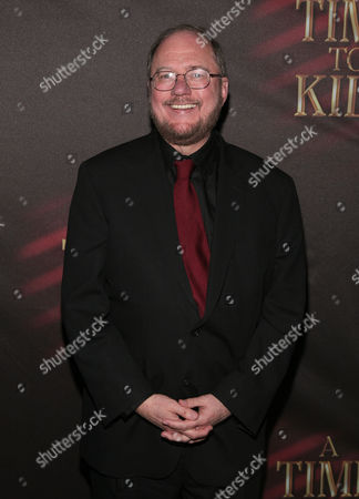 """Playwright Rupert Holmes attends the opening night party for """"A Time To Kill"""" on Broadway on in New York"""