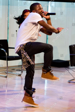 """Marcus Canty performs at the """"How Radio Creates The Next Star"""" seminar at Advertising Week on in New York"""