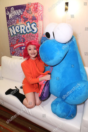 Allison Iraheta is seen at the American Music Awards KIIS FM Wonka NERDS Gifting Suite, on in Los Angeles