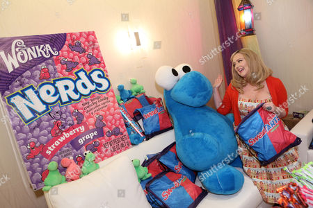Stock Photo of Singer Katrina Parker is seen at the American Music Awards KIIS FM Wonka NERDS Gifting Suite, on in Los Angeles