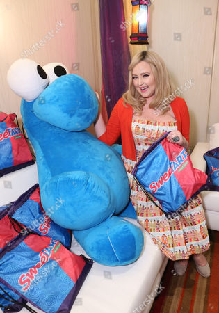 Singer Katrina Parker is seen at the American Music Awards KIIS FM Wonka NERDS Gifting Suite, on in Los Angeles