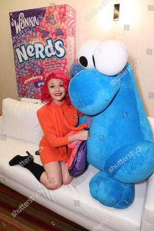 Allison Iraheta is seen at the American Music Awards KIIS FM Wonka NERDS Gifting Suite, on Saturday, November, 23, 2013 in Los Angeles