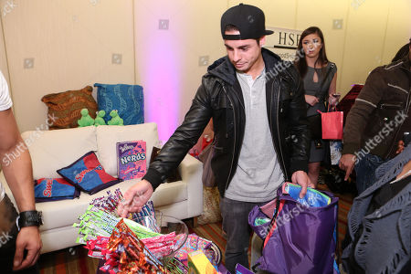 Actor/choreographer Beau 'Casper' Smart is seen at the American Music Awards KIIS FM Wonka NERDS Gifting Suite, on Saturday, November, 23, 2013 in Los Angeles