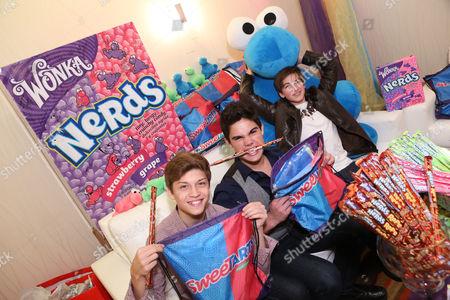 Editorial photo of American Music Awards KIIS FM Wonka NERDS Gifting Suite, Los Angeles, USA