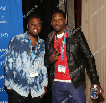 "L-R) DJ Camper and S1 participate in the ""Urban Hitmakers: Maestros of Modern Music"" panel at the 8th Annual ASCAP ""I Create Music"" EXPO, on in Hollywood, California"
