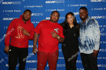 "L-R) Producers Boi-1da, DJ Mustard, DJ Camper ASCAP's Jennifer Drake and Producer and S1 participate in the ""Urban Hitmakers: Maestros of Modern Music"" panel at the 8th Annual ASCAP ""I Create Music"" EXPO, on in Hollywood, California"