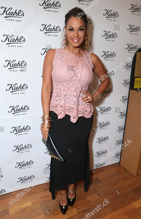 Sheree Fletcher arrives at Kiehl's Earth Day party hosted by Ashley Judd & Anthony Mackie on in Santa Monica, Calif