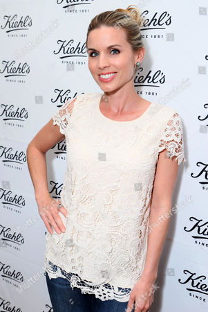 Maria Sansone arrives at Kiehl's Earth Day party hosted by Ashley Judd & Anthony Mackie on in Santa Monica, Calif