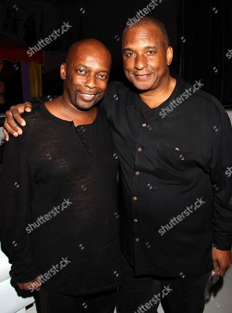 Music composer Kurt Farquhar and TV producer Ralph Farquhar attend BET Real Husbands of Hollywood Wrap Party at SupperClub on Friday, Nov. 2nd, 2012, in Hollywood, California