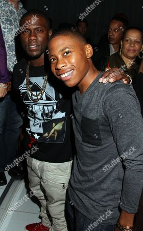 Actors Kevin Hart and Carlon Jeffery attend BET Real Husbands of Hollywood Wrap Party at SupperClub on Friday, Nov. 2nd, 2012, in Hollywood, California