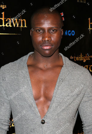 """Amadou Ly arrives at """"The Twilight Saga: Breaking Dawn - Part 2"""" Summit party sponsored by Butterfinger Bites at Comic-Con on in San Diego, Calif"""