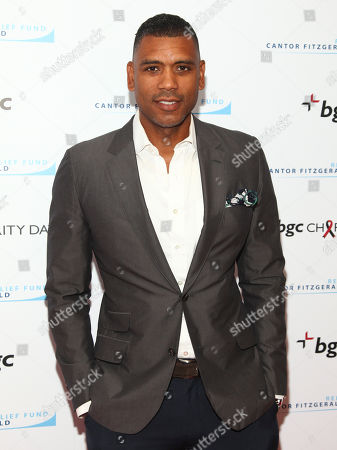 Allan Houston attends Cantor Charity Day 2015 hosted by Cantor Fitzgerald and BGC Partners, in New York