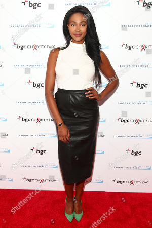 Nana Meriwether attends Cantor Charity Day 2015 hosted by Cantor Fitzgerald and BGC Partners, in New York