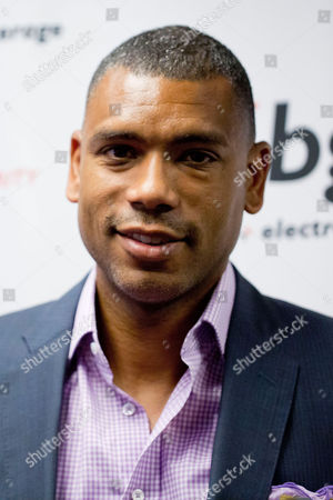 Allan Houston arrives at the Annual Charity Day hosted by Cantor Fitzgerald and BGC Partners, on in New York