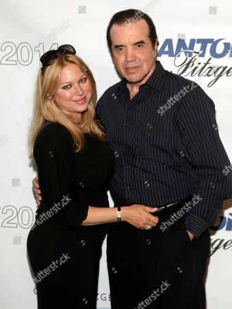 Gianna Palminteri, left, and Chazz Palminteri, right, attend Cantor Fitzgerald and BGC Partners' 10th Annual Charity Day on in New York