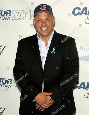 Jim Leyritz attends Cantor Fitzgerald and BGC Partners' 10th Annual Charity Day on in New York