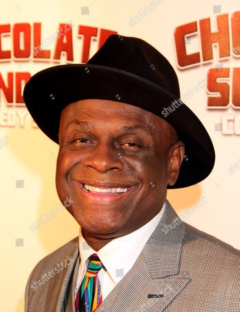Comedian Michael Colyar attends Chocolate Sundaes Comedy Show Premiere at The Mark For Events, in Beverly Hills, California. Chocolate Sundaes Comedy Show debuts on Showtime Feb 7, 2013