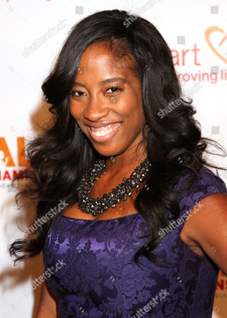 Shondrella Avery arrives at the CoachArt Gala of Champions in Beverly Hills, Calif. on