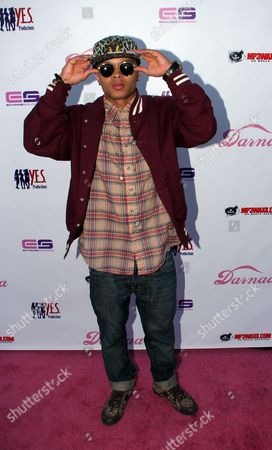 Recording artist Bobby Brackins arrives at Darnaa's Listening Party and Live Performance Event on at Whisky a Go Go in West Hollywood, California