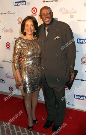 """Freda Payne and Louis Gossett, Jr seen at Debbie Allen's All Star Gala """"One Night Only"""", on Thursday, December, 12, 2013 at Royce Hall on the campus of UCLA in Los Angeles. California"""