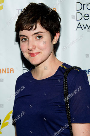 Lisa Joyce arrives at the 57th Annual Drama Desk Awards on in New York