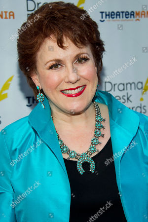 Judy Kaye arrives at the 57th Annual Drama Desk Awards on in New York