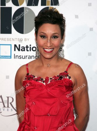 Johnson Publishing Company CEO Desiree Rogers attends the Ebony Power 100 Gala on in New York
