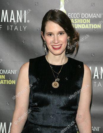 Fashion designer Jordana Warmflash attends the Ecco Domani Fashion Foundation 2014 Winners Happy Hour, on in New York