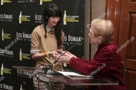 Editorial image of Ecco Domani Fashion Foundation 2014 Winners Happy Hour, New York, USA