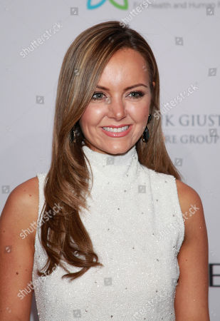 """Nicole Lapin arrives at the Elton John AIDS Foundation's 12th Annual """"An Enduring Vision"""" benefit gala at Cipriani Wall Street on in New York"""