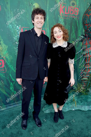 """Jack Dishel and Regina Spektor seen at Focus Features Los Angeles Premiere of LAIKA """"Kubo and The Two Strings"""", in Universal City, Calif"""
