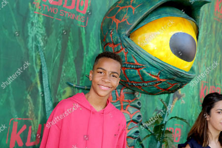 "Stock Photo of Terrell Ransom Jr. seen at Focus Features Los Angeles Premiere of LAIKA ""Kubo and The Two Strings"", in Universal City, Calif"