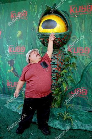 "Stock Picture of Chuy Bravo seen at Focus Features Los Angeles Premiere of LAIKA ""Kubo and The Two Strings"", in Universal City, Calif"