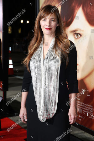 Stock Photo of Writer Lucinda Coxon seen at Focus Features Los Angeles premiere of 'The Danish Girl' at Regency Village Theatre, in Los Angeles, CA