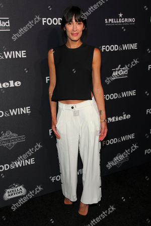 Athena Calderone attends the Food & Wine 2016 Best New Chefs Party at Event Block, in New York