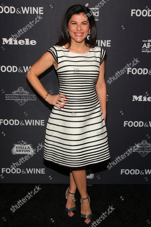 Nilou Motamed attends the Food & Wine 2016 Best New Chefs Party at Event Block, in New York