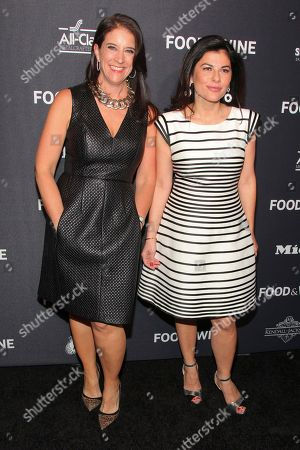 Christina Grdovic, left, and Nilou Motamed, right, attend the Food & Wine 2016 Best New Chefs Party at Event Block, in New York