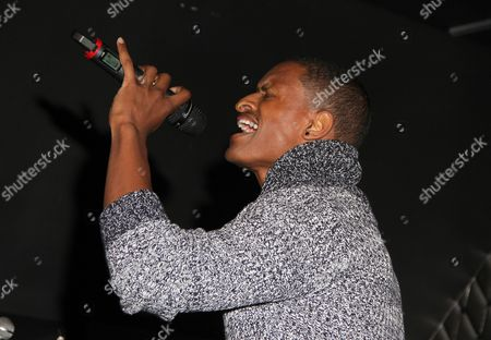 J Rome performs at For the Love of R&B - A Tribute to Whitney Houston at Tru Hollywood, in Los Angeles