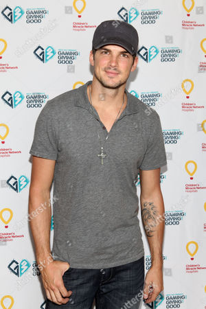 Rick Malambri poses for a photo at the Xbox 360 and Children's Miracle Network Gaming and Giving for Good (G3) Miracle Lounge on in West Hollywood, Calif